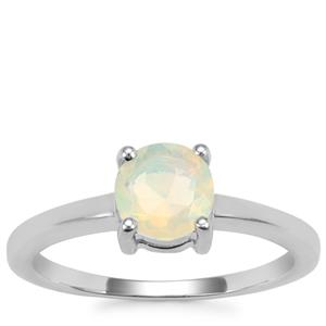 Ethiopian Opal Ring in Sterling Silver 0.64cts