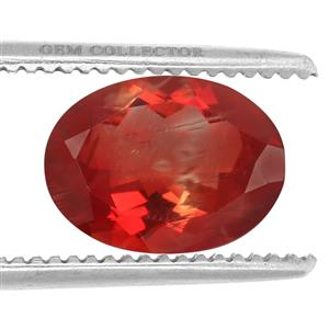 Tarocco Red Andesine GC loose stone  10.25cts