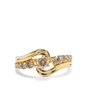 3/4ct Argyle Diamond 18K Gold Tomas Rae Ring