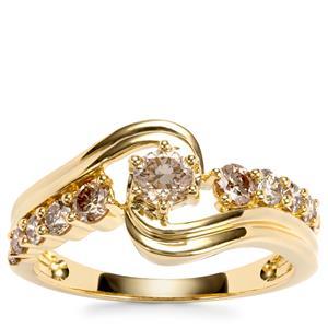 Argyle Diamond Ring in 18K Gold 0.78ct