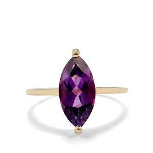 2.53ct Moroccan Amethyst 10K Gold Ring