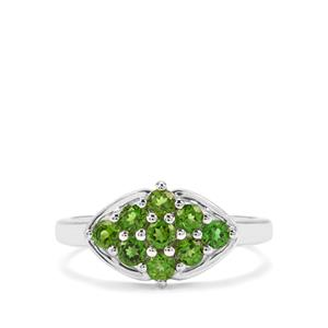 0.92ct Chrome Diopside Sterling Silver Ring