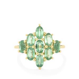 2.78ct Odisha Kyanite 9K Gold Ring