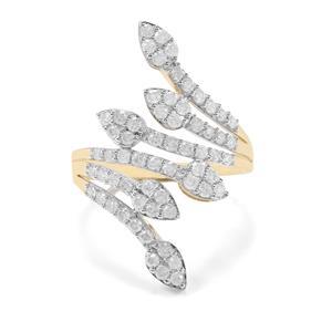 1ct Diamond 9K Gold Tomas Rae Ring