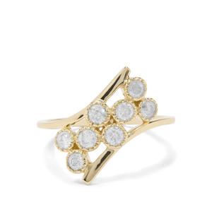 'London' 1/2ct First Class Diamond Ring 9K Gold