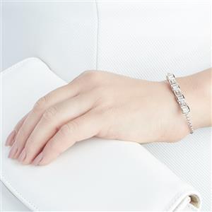 3.81ct Cullinan Topaz Sterling Silver Bracelet