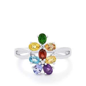 1.55ct Exotic Gem Sterling Silver Ring