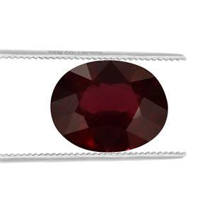 Malawi Garnet GC loose stone  4.35cts