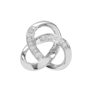 1/10ct Diamond Sterling Silver Pendant