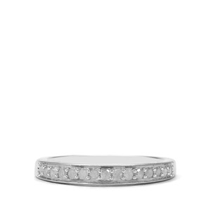 1/4ct Diamond Sterling Silver Ring