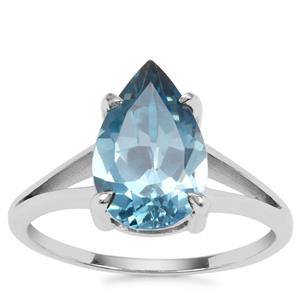 Versailles Topaz Ring in Sterling Silver 3.78cts