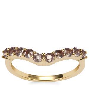 Bekily Colour Change Garnet Ring in 9K Gold 0.80ct