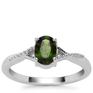 Chrome Diopside Ring in Sterling Silver 0.79ct