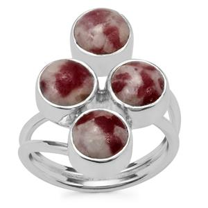 Lepidolite Ring in Sterling Silver 7cts