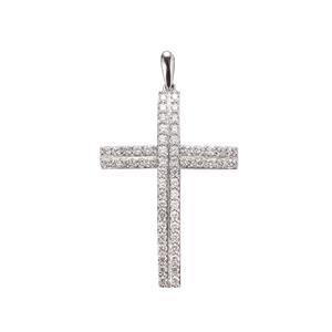 Diamond Pendant in Platinum 950 1ct