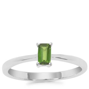 Chrome Diopside Ring in Sterling Silver 0.29ct