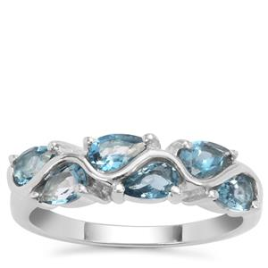 Marambaia London Blue Topaz Ring in Sterling Silver 1.56cts