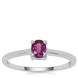 Comeria Garnet Ring  in Sterling Silver 0.42cts