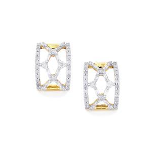 1ct Diamond 10K Gold Tomas Rae Earrings