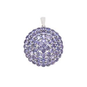 Tanzanite Pendant in Sterling Silver 6.65cts