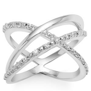 Ratanakiri Zircon Ring in Sterling Silver 0.18ct