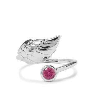 0.30ct Rajasthan Garnet Sterling Silver Ring