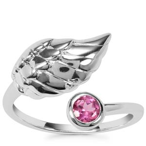 Rajasthan Garnet Ring in Sterling Silver 0.30ct