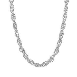 """22"""" Sterling Silver Couture Cordino Chain 3.98g"""