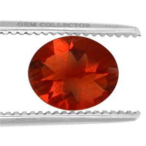 Tarocco Red Andesine GC loose stone  4.10cts