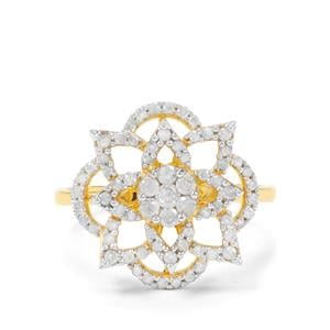 2/3ct Diamond Midas Ring