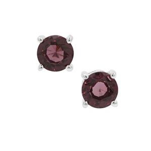 Burmese Spinel Earrings in Sterling Silver 1.44cts