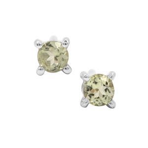 Lemanja Amblygonite Earrings in Sterling Silver 0.18ct