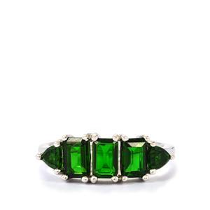 2.33ct Chrome Diopside Sterling Silver Ring