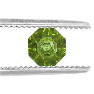 3.00ct Quasar Cut Fern Green Quartz (U)