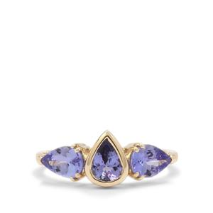 Tanzanite Ring in 9K Gold 1.85cts