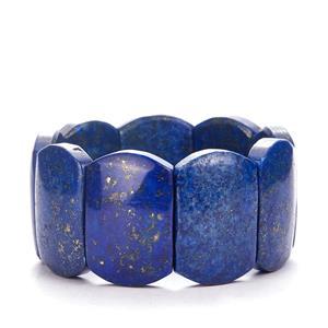 Lapis Lazuli Elasticated Bracelet  584.5cts