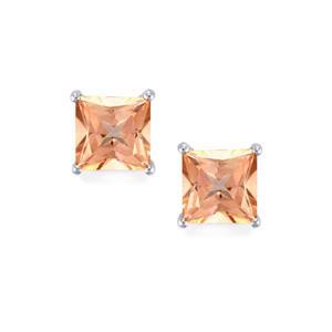 4.22ct Galileia Topaz Sterling Silver Earrings