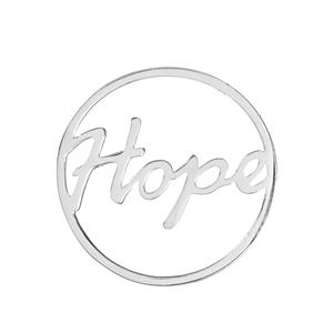 Hope Sterling Silver Disc 2.30g