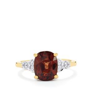 Bekily Colour Change Garnet & Diamond 18K Gold Lorique Ring MTGW 4.37cts