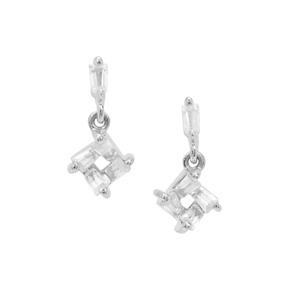1.15ct Ratanakiri Zircon Sterling Silver Earrings