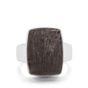 Shungite Ring in Sterling Silver 9cts