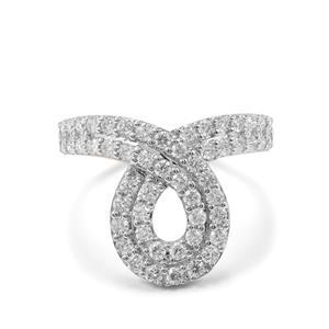 1ct internally flawless Diamond 18K Gold Tomas Rae Ring