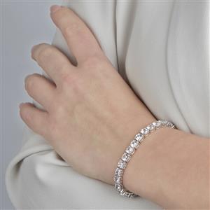 Singida Tanzanian Zircon Bracelet  in Sterling Silver 20.36cts