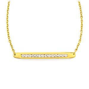 0.84ct Rainbow Moonstone Gold Vermeil Bridge Necklace