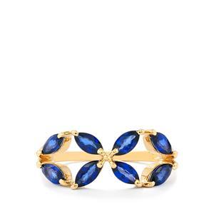 1.40ct Sri Lankan Sapphire 9K Gold Ring