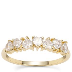 Ratanakiri Zircon Ring in 9K Gold 1.02cts