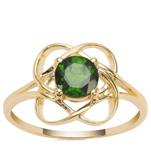 Chrome Diopside Ring in 9K Gold 0.86ct