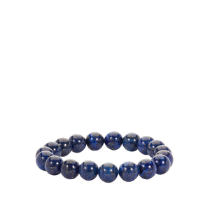 Sar-i-Sang Lapis Lazuli stretchable Bracelet 162cts