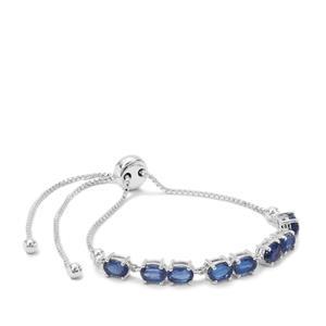 Nilamani Slider Bracelet in Sterling Silver 5.39cts