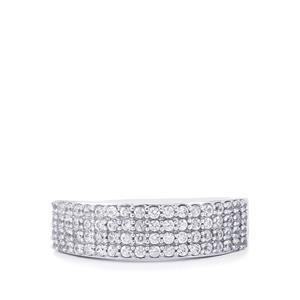 0.92ct Ratanakiri Zircon Sterling Silver Ring